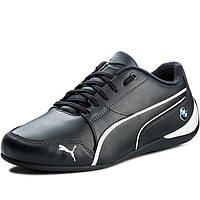 214237ffca675d Кроссовки мужские Puma BMW Ms Drift Cat 7 305986 01 (темно-синие, кожаные