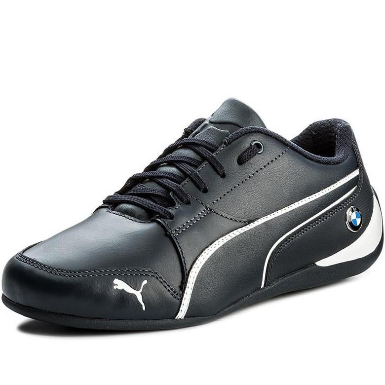 Кроссовки мужские Puma BMW Ms Drift Cat 7 305986 01 (темно-синие, кожаные ba8ff9645f5