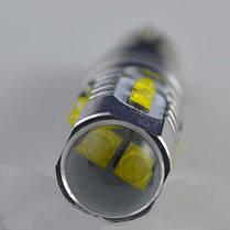 Мощная светодиодная  лампа  SLP LED с цоколем BAY9S (H21W) (H6W) Cree 50W 9-30V Белый, фото 2