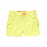 Crazy8 шорты для девочки желтые с бантиками