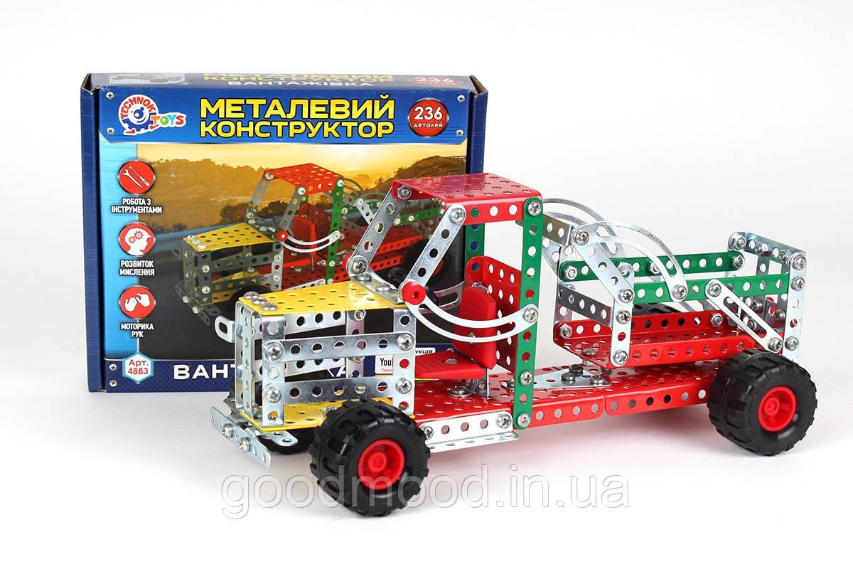 """Конструктор металевий """"Вантажівка ТехноК"""", арт.4883"""