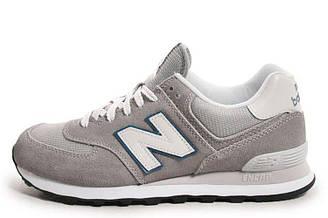 Мужские кроссовки New Balance ML574VGY Нью Баланс ML574VGY  серые оригинал