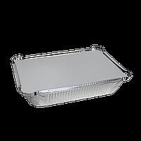 Крышка к касалетке 430мл из алюминиевой фольги и картона 100шт