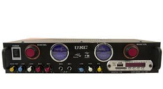 Усилитель звука UKC KA-105+FM+USB+караоке
