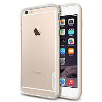 Бампер Spigen для iPhone 6S Plus/6 Plus Neo Hybrid EX, Shampagne Gold