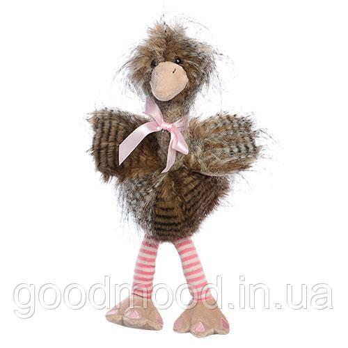 М'яка іграшка F1339A-11 страус, з бантиком, 40 см.