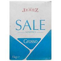 Крупная морская соль Don Jerez Sale Marino Grosso 1кг (Италия)