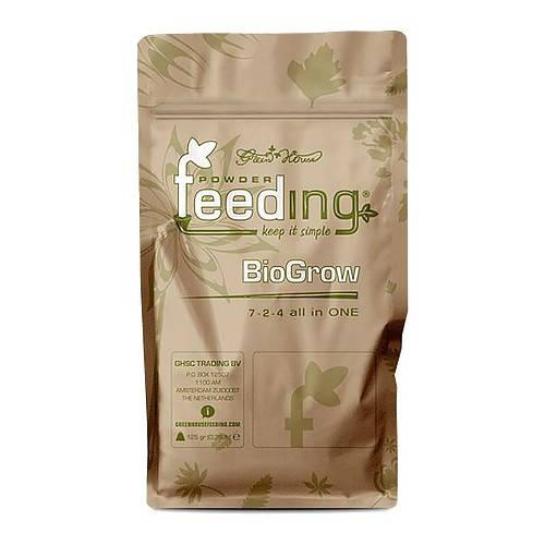 Органическое удобрение для вегетативного роста Powder feeding BioGrow 125 g.