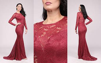"""Длинное вечернее платье-годе """"ГРЕЙС"""" со шлейфом (7 цветов), фото 3"""