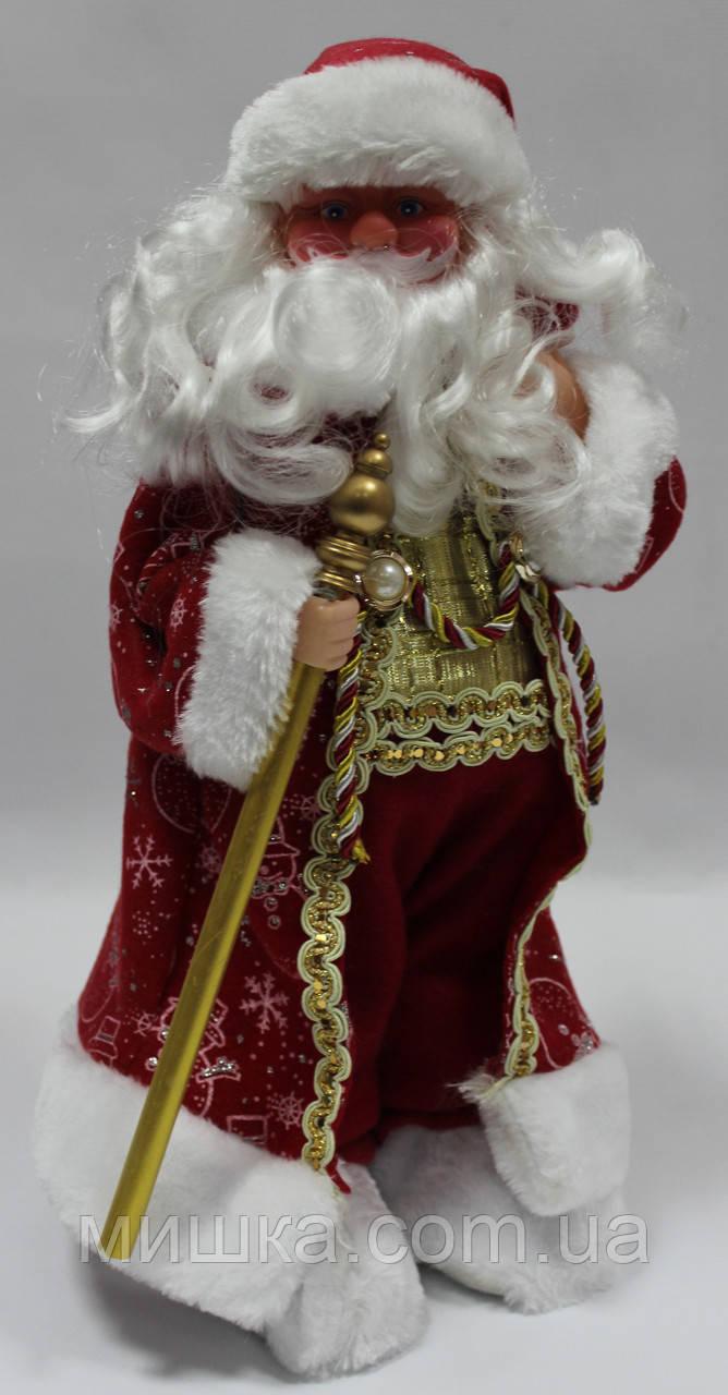Дед мороз музыкальный,1203-16А,  40 см, поздравляет, поет песню