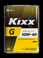 Полусинтетическое моторное масло Kixx G 10w-40 4l, фото 1