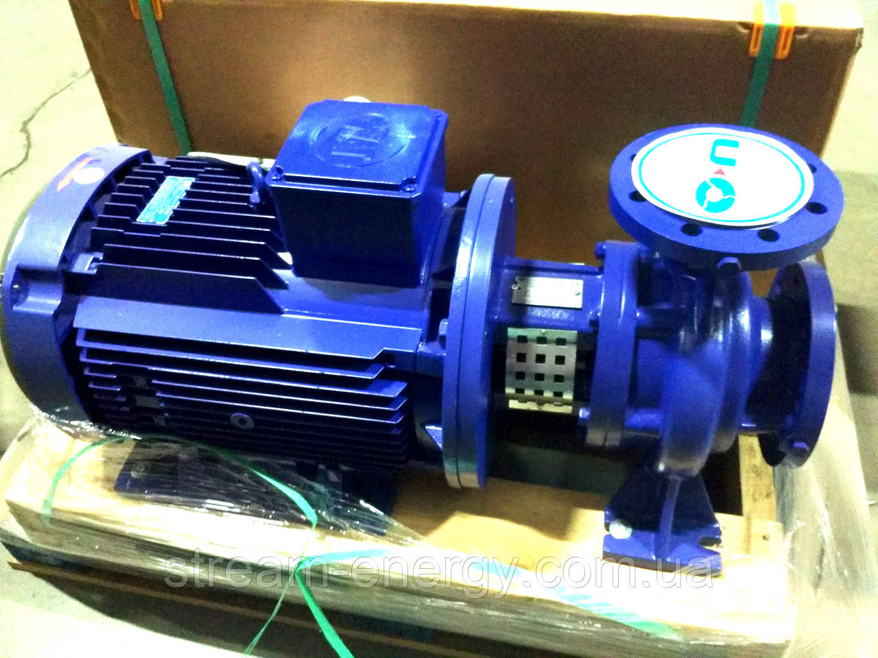 Відцентровий моноблочний насос SNSM 40-160 (4кВт) 36м3/32м