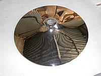 База «Конус» 430 мм круглая металлическая. Хромированная. Для кресла, стула, стола.