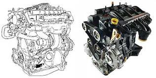 Двигатель 2.5 dCi, 3.0dCi