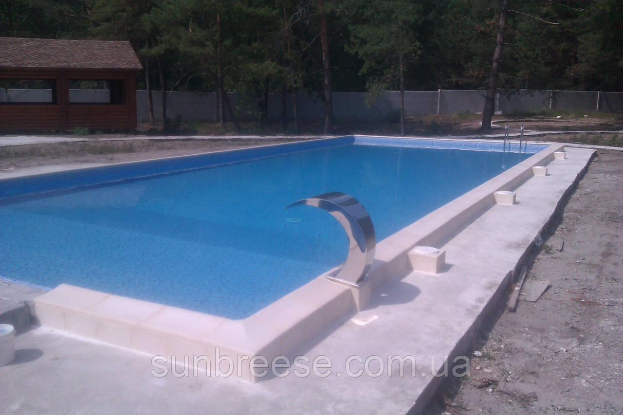 Строительство частных и общественных  бассейнов