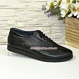 Кроссовки женские кожаные на шнуровке, фото 2