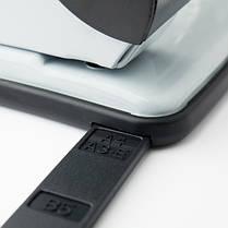 Діркопробивач Axent Exakt-2 3920-01-A металевий, 20 аркушів, чорний, фото 3