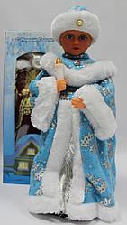 Снегурочка музыкальная,1223-16А,  40 см, поздравляет, поет песню