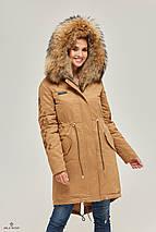 Зимняя Куртка Парка с Мехом КЭМЕЛ, фото 3