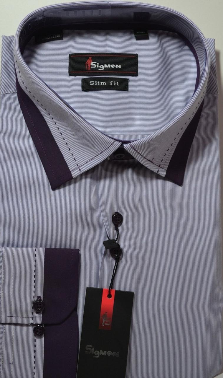 Сорочка приталені SIGMAN