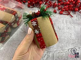 Новогодняя декоративная игрушка украшения для дома и елки
