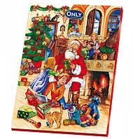 Адвентический календарь новогодний с шоколадом Only 75г (Польша) картинки в ассортименте