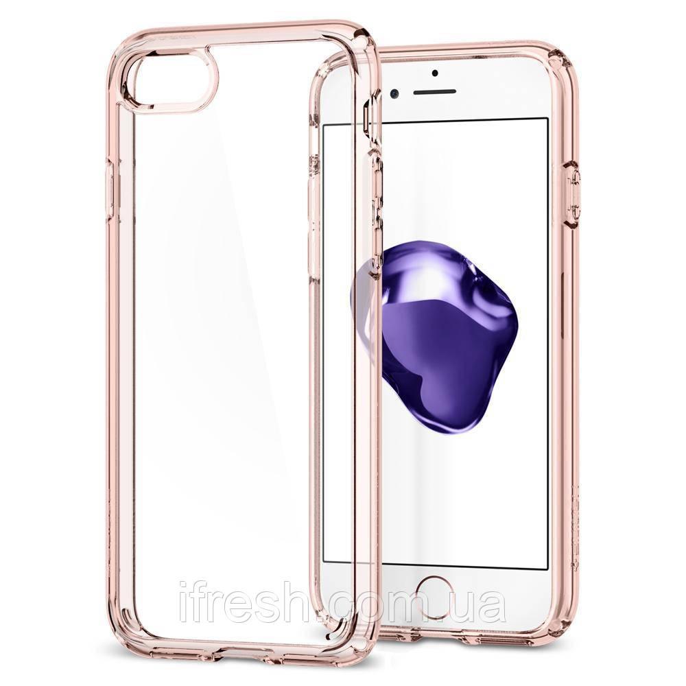 Чехол Spigen для iPhone 8 / 7 Ultra Hybrid 2, Rose Crystal