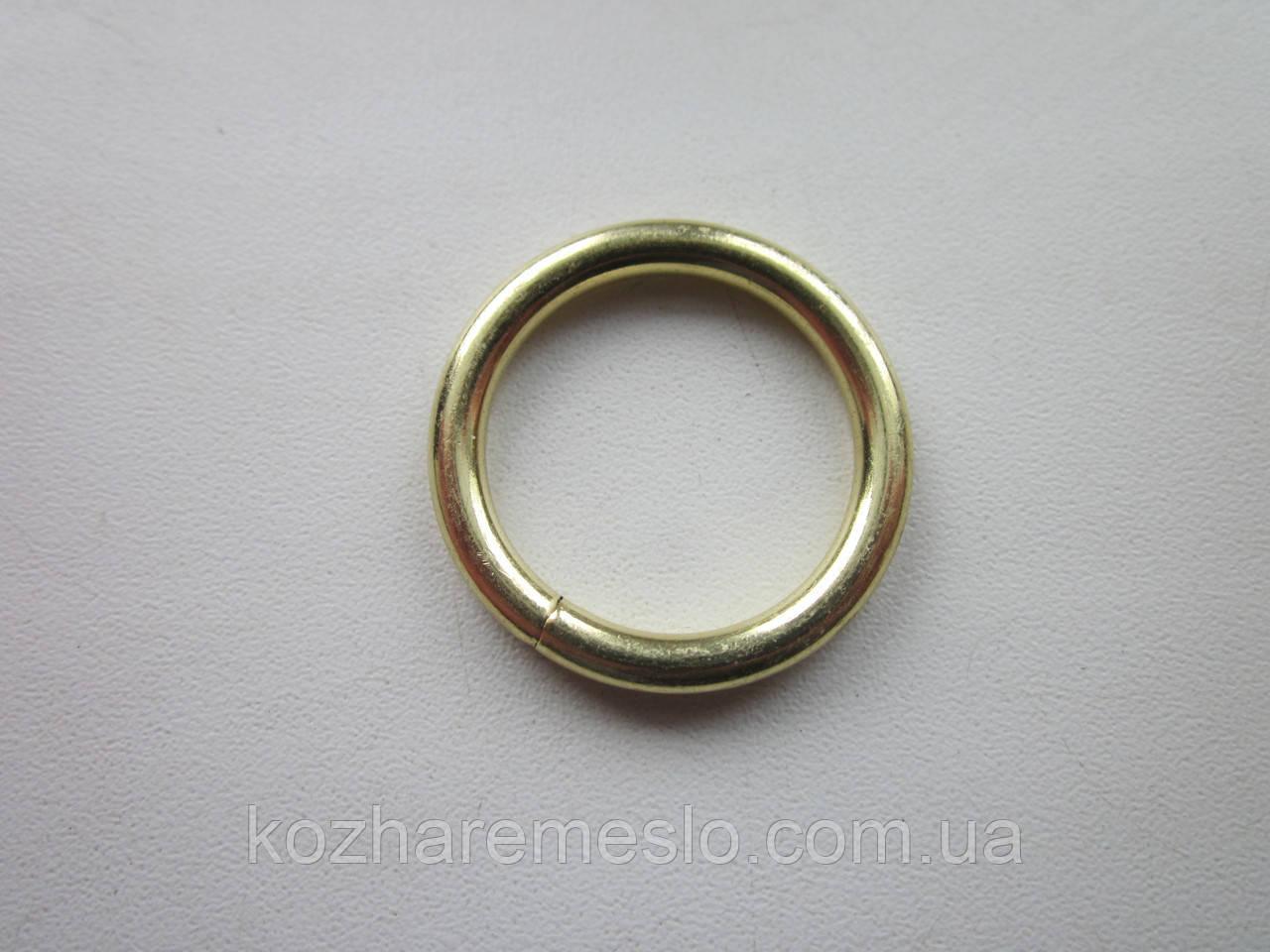 Кольцо проволочное 4  х 25 мм золото