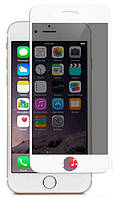 Защитное стекло Mocolo 3D Full Cover Tempered Glass iPhone 6/6s Privacy White