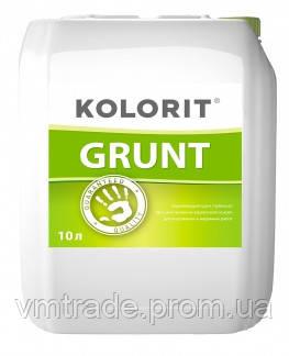Kolorit Укрепляющий универсальный грунт GRUNT, 10 л