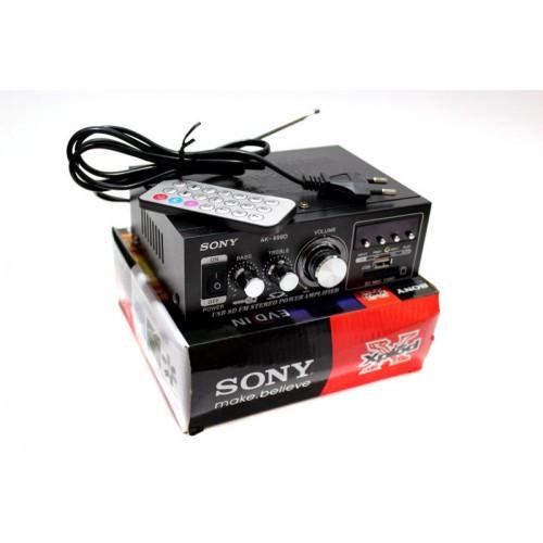 Усилитель Xplod AK-699D MP3 FM USB караоке