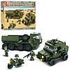 Конструктор SLUBAN M38-B0307  армия, военная техника,фигурки ,455дет, в кор-ке,42,5-33-6,5см