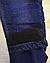 Джинсовые брюки на флисе для девочек, Венгрия, Seagull, рр. 116,134,146 рр., арт. CSQ-89902 ,, фото 3