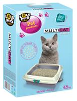 """""""Lolopets"""" бентонитовый наполнитель для кошачьего туалета 4,5kg., 4шт/уп."""