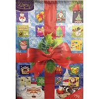 Адвентический календарь новогодний с шоколадом (картинки в ассортименте) 75г Baron (Польша), фото 1