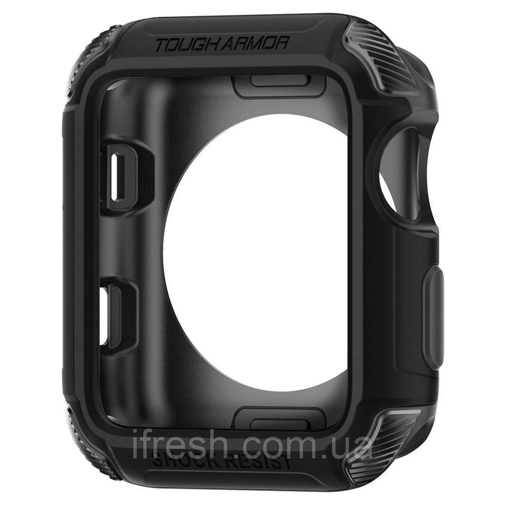 Чехол Spigen для Apple Watch Tough Armor™ 2 (42mm) Black