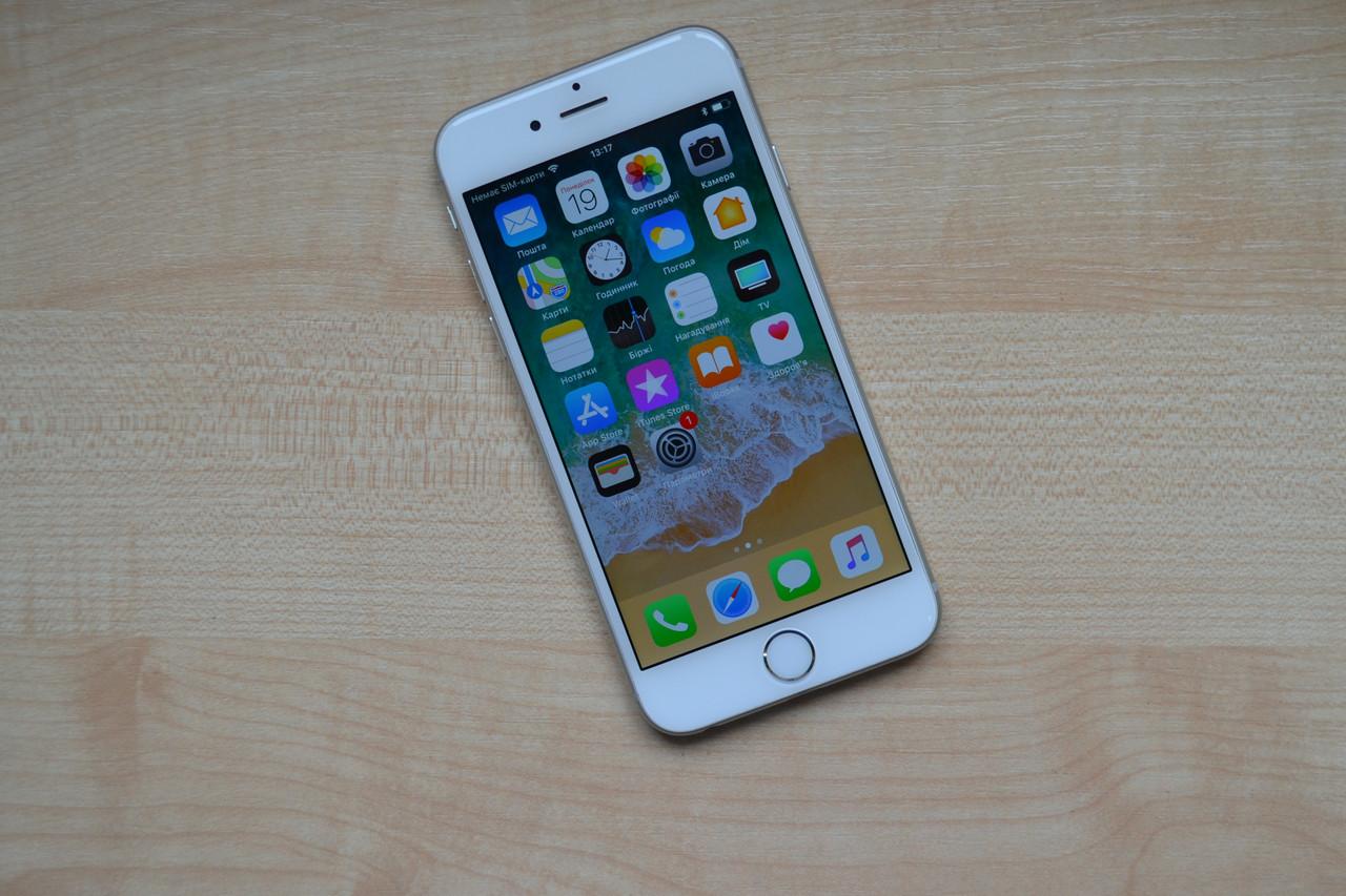 Apple Iphone 6 16Gb Silver Neverlock Оригинал!