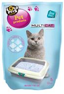 """""""Lolopets"""" силикагелевый наполнитель для кошачьего туалета 5l/2,3kg., 4шт/уп."""
