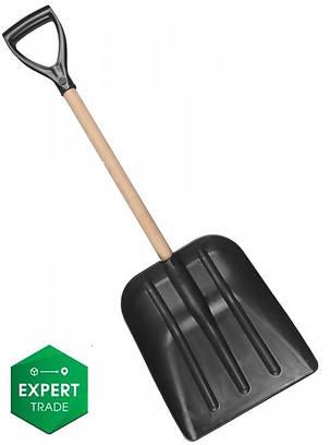 Лопата для снега автомобильная пластиковая, фото 2