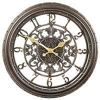 Часы настенные (Ø 28 см) коричневые