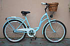Велосипед VANESSA 26 Sky Blue Польща, фото 2