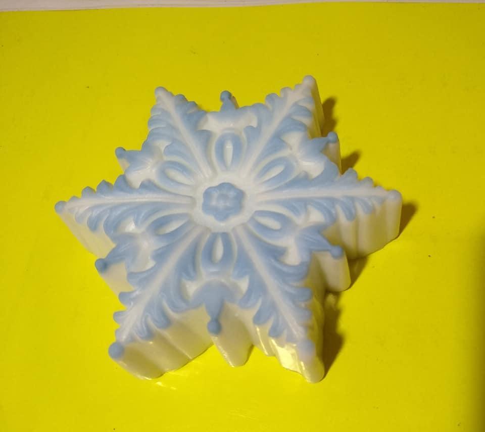 Мыло натуральное Снежинка