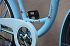 Велосипед VANESSA 26 Sky Blue Польща, фото 4