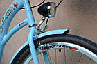 Велосипед VANESSA 26 Sky Blue Польща, фото 6