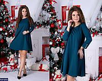 Свободное платье  с рукавами три четверти, фото 1