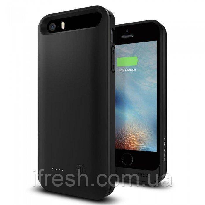 Чехол-зарядка Spigen для iPhone SE/5/5s V24SE