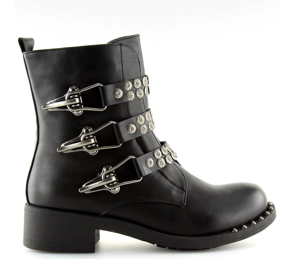 Женские ботинки Hayner black