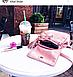 Рюкзак женский розовый с кисточками Sambag разные размеры 22100006, фото 7