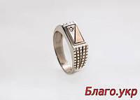 """Серебряная печатка кольцо """"Стиль"""" для мужчин"""