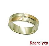 """Серебряное кольцо """"Солнце"""" унисекс 5мм, фото 2"""